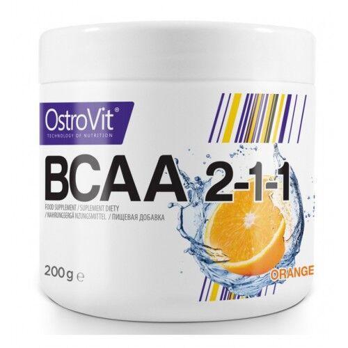 OstroVit BCAA 2-1-1 200 грамм, Без вкуса