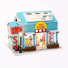 """3D Румбокс """"Магазин Іграшок"""" Ляльковий Будиночок DIY DollHouse від CuteBee (V391TS)"""