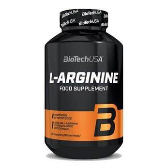 Аргинин, Biotech USA L-Arginine 90 капсул