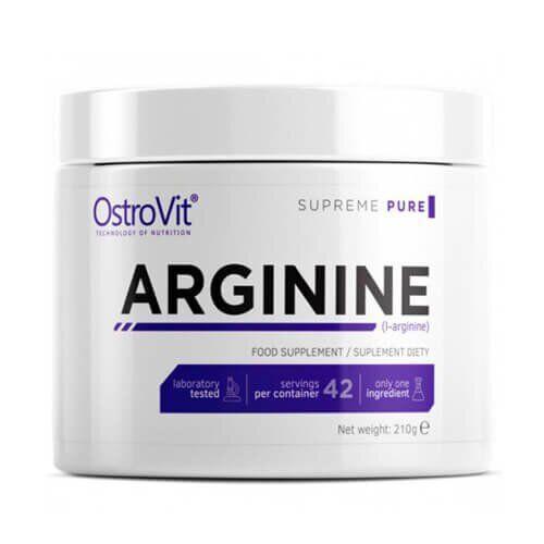 Аргинин, OstroVit Arginine 210 грамм, Без вкуса