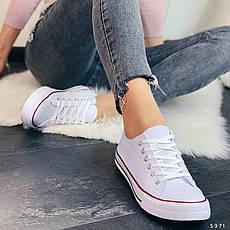 Кросівки жіночі білі. Кросівки жіночі з текстилю. Кеди жіночі. Мокасини жіночі. Кріпери, фото 2