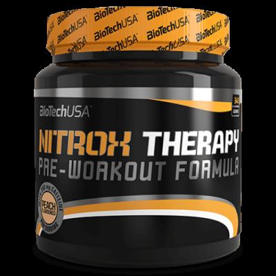 Предтренировочный комплекс, Biotech USA Nitrox Therapy 340 грамм, Тропические фрукты