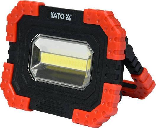 Прожектор светодиодный YATO YT-81821, фото 2