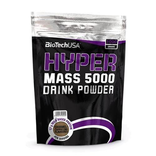 Гейнер, Biotech USA Hyper Mass 5000 1000 грамм, Ваниль