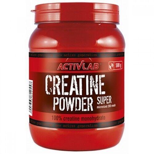 Креатин, Acivlab Creatine Powder Super 500 грамм, Смородина
