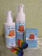 Набор натуральной косметики для мальчика (шампунь, масло, мыло)