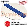 Пластина для вигoтовлення кап Друфософт (DRUFOSOFT) Dereve 3 мм х 120 мм, 4270-12, біл син-біл