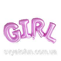 Фольгированный шар-надпись Girl Китай