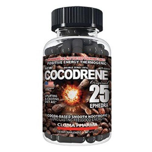 Жиросжигатель, Cocodrene 25 90 капсул
