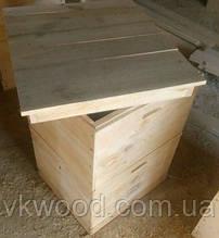 Вулик двокорпусний  10 рамок (230 мм)Улей двухкорпусный 10-ти рамочный (230 мм)