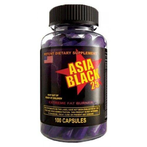 Жиросжигатель, Asia Black 100 капсул