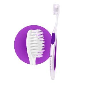 Зубная щетка Nano Silver сила серебра фиолетовая Сибирское здоровье