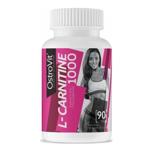 Жиросжигатель, Ostrovit L-Carnitine 1000 90 таб
