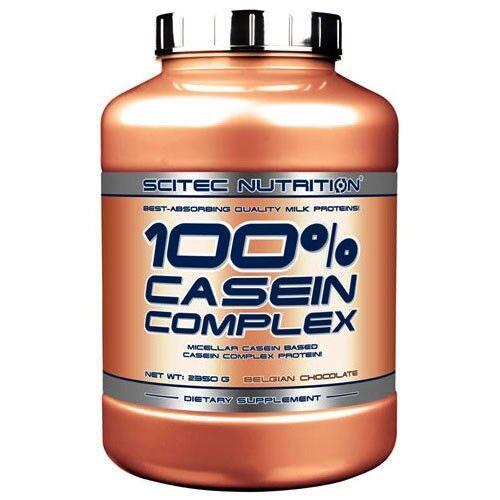 Протеин, Scitec 100% Casein Complex 2350 грамм, Бельгийский шоколад