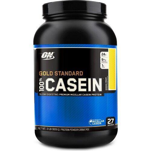 Протеин, ON 100% Gold Standart Casein 909 грамм, Шоколад