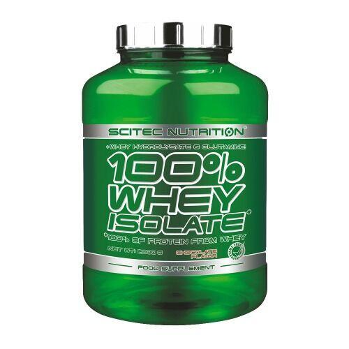 Scitec 100% Whey Isolate 2000 грамм, Банан