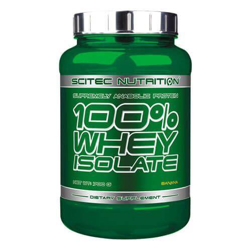 Протеин, Scitec 100% Whey Isolate 700 грамм, Ваниль