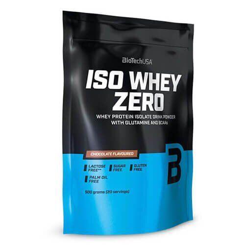 Протеин, Biotech Iso Whey Zero 500 грамм, Банан