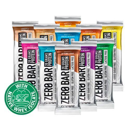 Протеин, Biotech USA Zero Bar 50 грамм, Шоколад-Орех