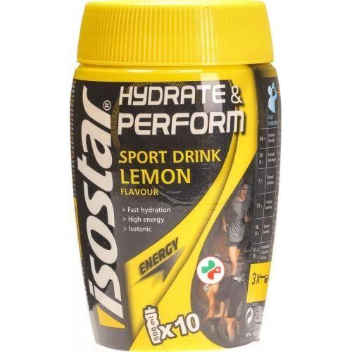 Изотоник, Isostar Hydrate & Perform 400 грамм, Лимон