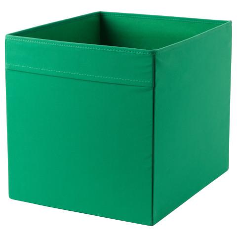 ДРЁНА Коробка, зеленый, 00323972, IKEA, ИКЕА, DRONA