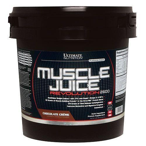 Гейнер, Muscle Juice 2600 Revolution 5040 грамм, Банан