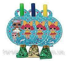 Язычки гудки  Куклы Лол  упаковка 6 штук