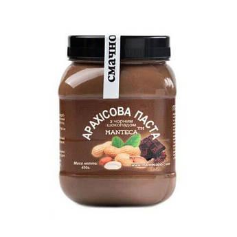 Арахисовая паста Manteca с черным шоколадом 450 грамм