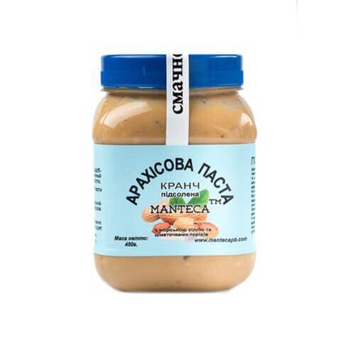 Арахисовая паста Manteca соленая 450 грамм