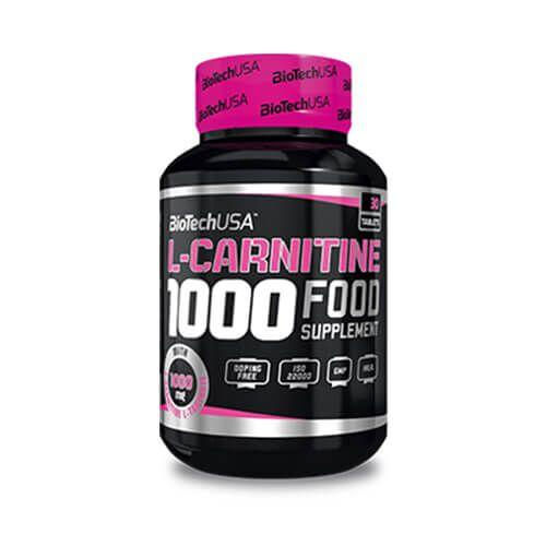 Жиросжигатель, Biotech L-Carnitine 1000 mg 30 таб