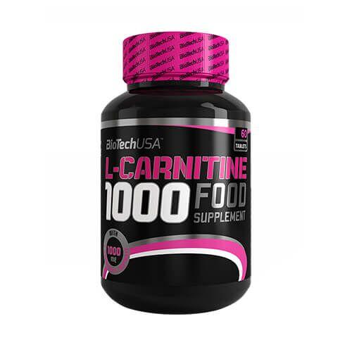 Жиросжигатель, Biotech L-Carnitine 1000 mg 60 таб