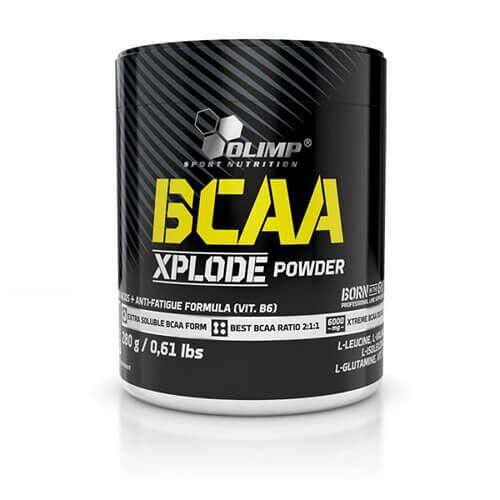 Olimp BCAA Xplode 280 грамм, Фруктовый пунш