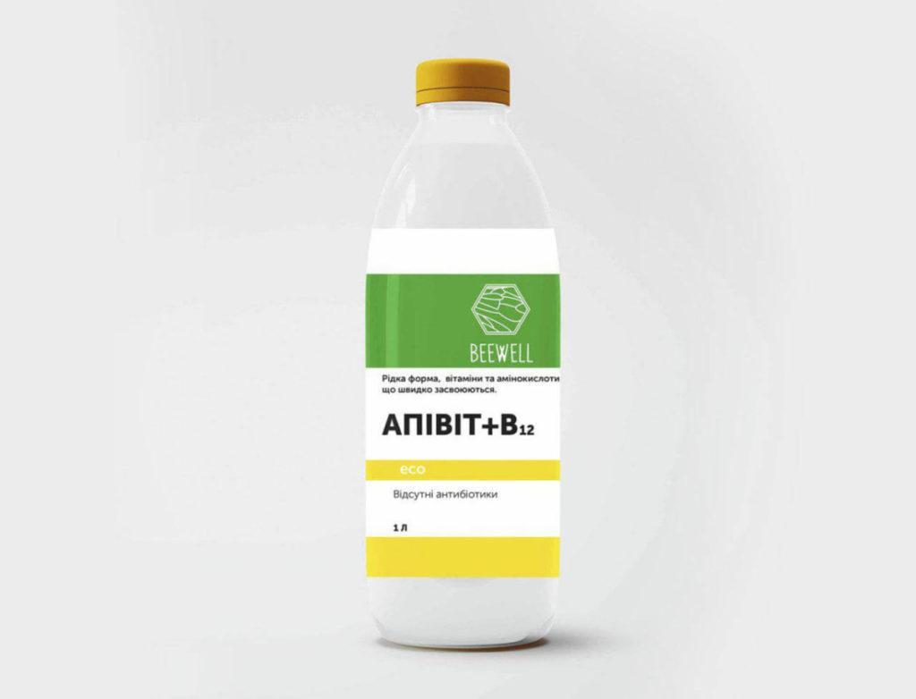 """Витаминный комплекс для пчел """"АПИВИТ + В12"""" 1 л"""