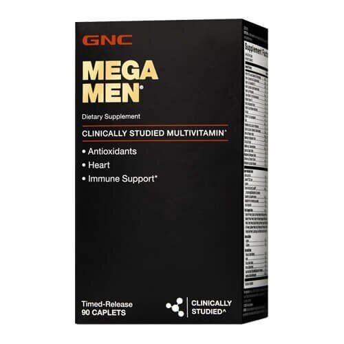 GNC Mega Men 90 капсул
