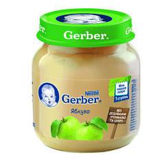 Пюре фруктове Gerber Яблуко, 6+, 130г