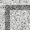 30х30 Керамічна плитка керамограніт підлогу Степс Steps corner кут сірий