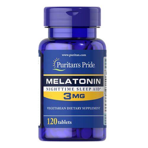 Мелатонин, Puritan's Pride Melatonin 3 mg 120 капсул