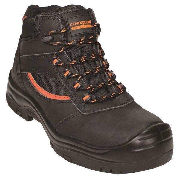 Ботинки кожаные, 100% без металла PEARL HIGH, S3