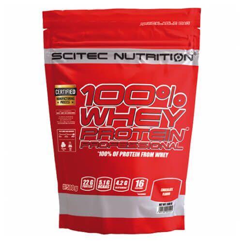 Протеин, Scitec 100% Whey Professional 500 грамм, Шоколад
