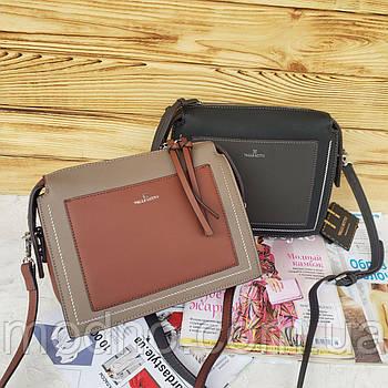 Женская стильная сумка на и через плечо Valle Mitto