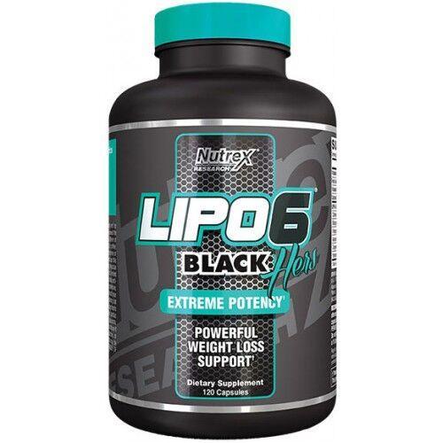 Жиросжигатель, Nutrex Lipo 6 Black Hers 120 капсул