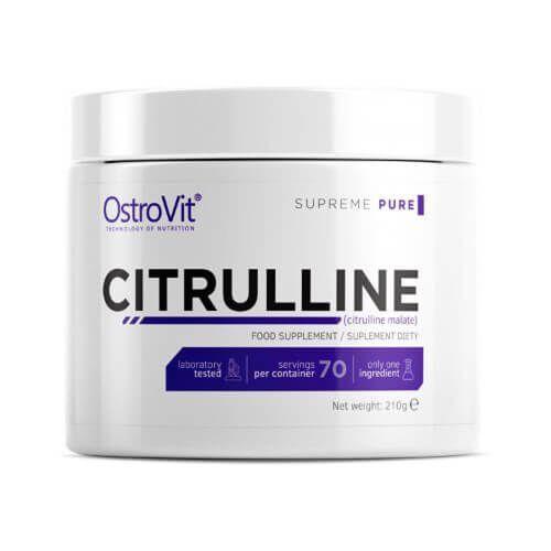 Цитрулин малат, OstroVit Supreme Pure Citrulline 210 грамм