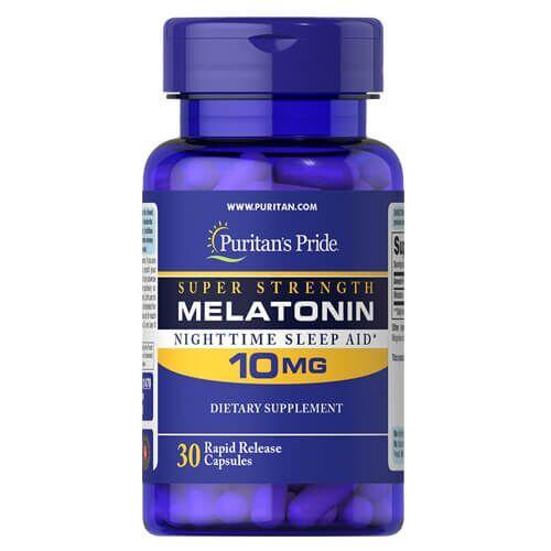 Puritan's Pride Melatonin 10 Mg 30 капсул