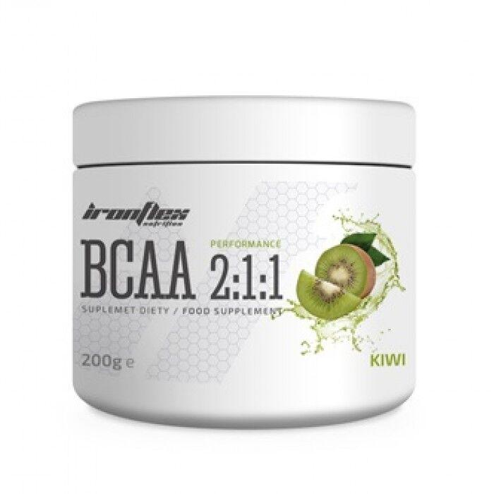 БЦАА IronFlex BCAA Perfomance 2-1-1 200 грамм, Лимон