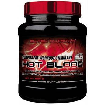 Scitec Hot Blood 3.0 820 грамм, Апельсин