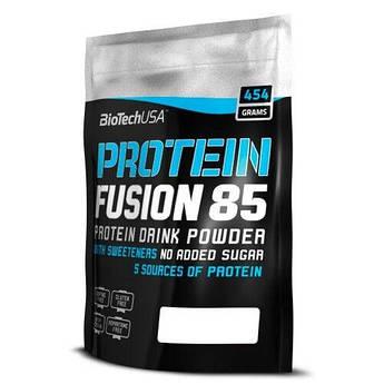 Протеин, BioTech USAProtein Fusion 85 454 грамм, Клубника