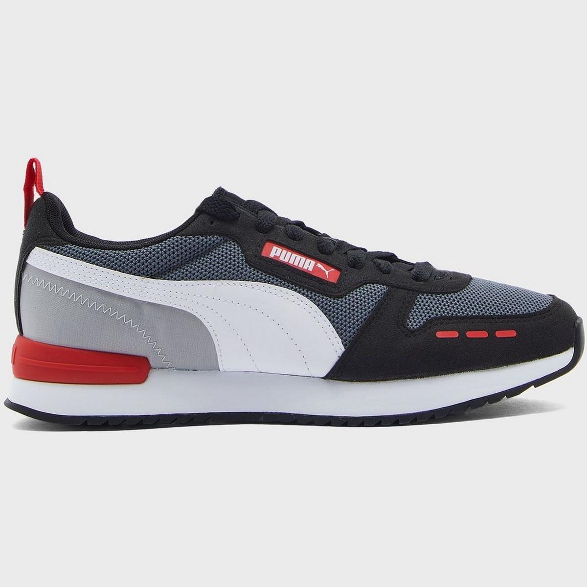 Кроссовки Puma R78 Castlerock-Black-White 37311705