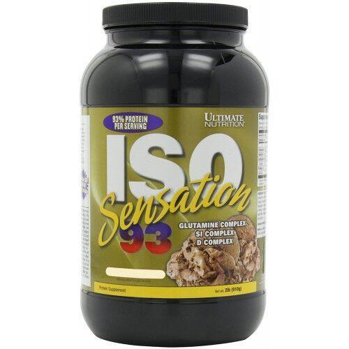 Протеин, Ultimate Iso Sensation 93 910 грамм, Банан