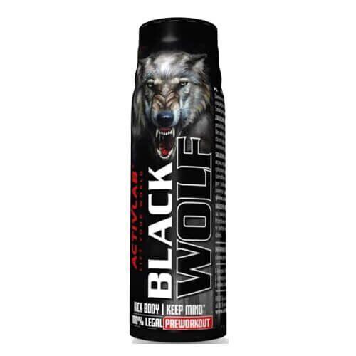 Предтренировочный комплекс, Activlab Black Wolf Shot 80 мл