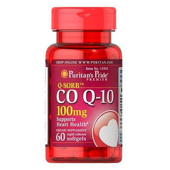 Puritan's Pride Co Q-10 100 mg 60 капсул